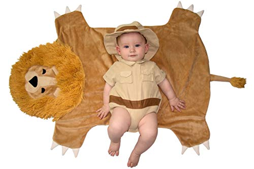 Princess Paradise Swaddle Wings Baby Costume, Safari Hunter, 0 to 3 Months -