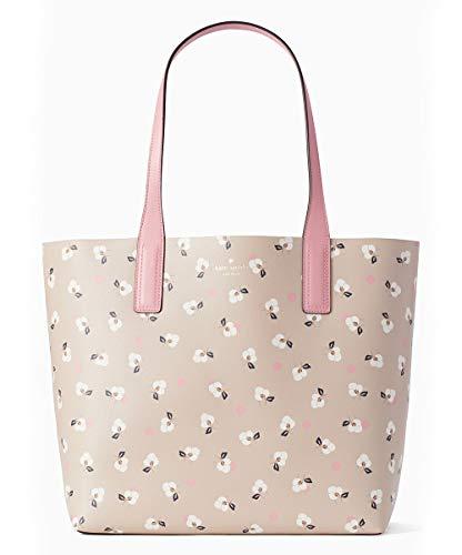 - Kate Spade New York Arch Place Mya Breezy Floral Ditsy Leather Tote Bag Shoulder Bag, Warm Beige, Multi
