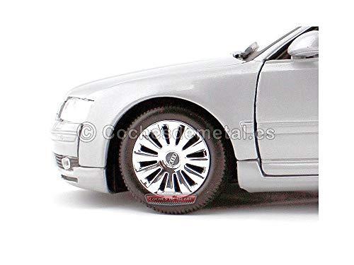2004 Audi A8 V8 3.8 Quattro Gris 1:18 Motor Max 73149