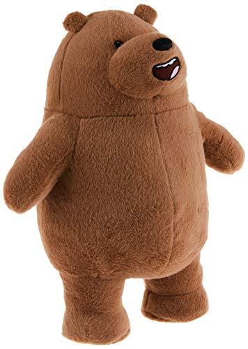 Gund Cartoon Network We Bare Bears Standing Grizz Plush, 11 #34; , Brown