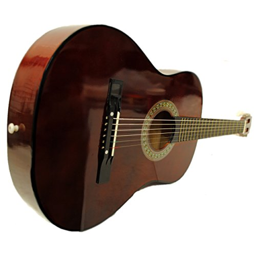 38″ Starter Acoustic Guitar with Performer Package KIT Bag:Tuner:Pick (Walnut)