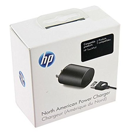 HP North American Power Charger for HP TouchPad - Hp Touchpad Cord
