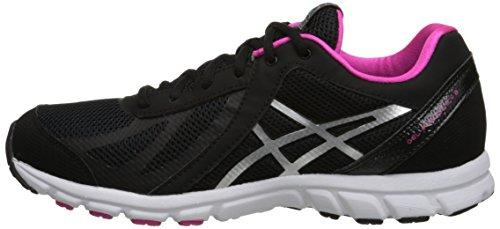 plateado negro 3 mujer rosa Frecuencia 6 para Medio US GEL Zapato deportivo 5 ax1wq0OZU