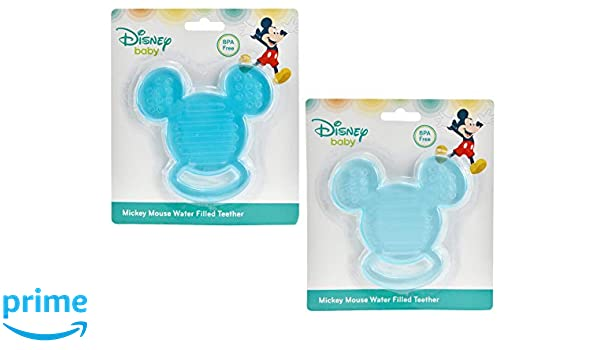 Disney Baby Mickey Mouse BPA Free Water Filled Teether Set BRAND NEW IN PACKAGE