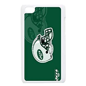 iPod Touch 4 Phone Case White New York Jets JIL665917
