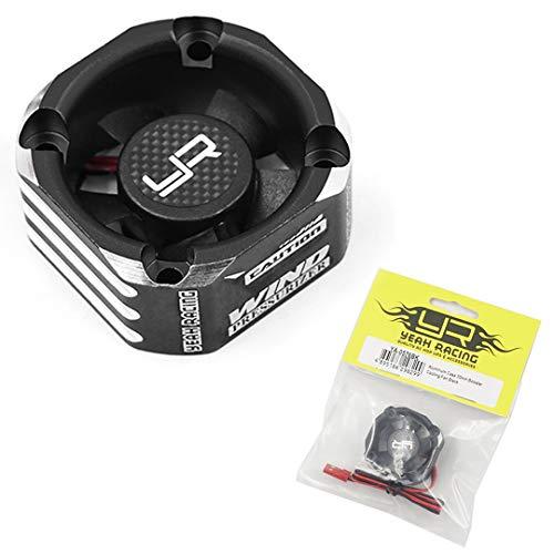 Yeah Racing Aluminum Case 30mm Booster Cooling Fan Black #YA-0576BK
