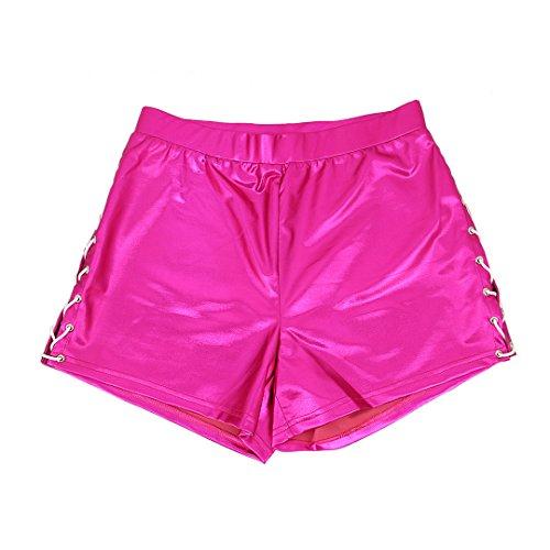 Pantaloncini 90S Red Donna Rose 90S 90S Donna Rose Pantaloncini Pantaloncini Red HB7pAq