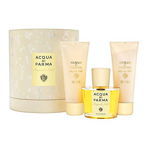 Acqua Di Parma Magnolia Nobile for Women 3 Piece Set Includes: 3.4 oz Eau de Parfum Spray + 2.6 oz Sublime Body Cream + 2.5 oz Sublime Shower Gel