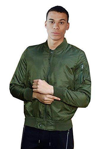 Soul Brave Verde Color Hombre de Caqui Chaqueta Para UCqwC1A