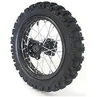 "Rueda 14""trasera Racing–ø15mm–Dirt Bike/Pit Bike/Mini Moto"