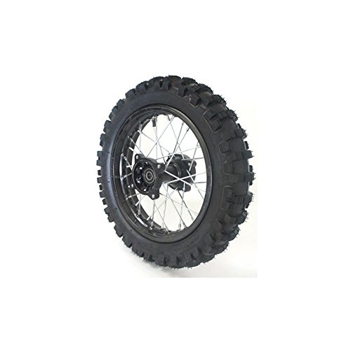 Roue 14' arriè re Racing - ø 15mm - Dirt bike / Pit bike / Mini Moto Pitrider