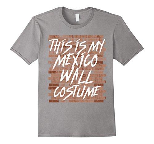 Mens Mexico Wall Funny Trump Halloween Costume Shirt Men Women XL (Lame Funny Halloween Costumes)