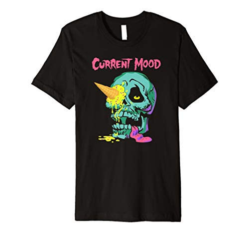 Shane Dawson Current Mood Ice Cream Skull T-shirt