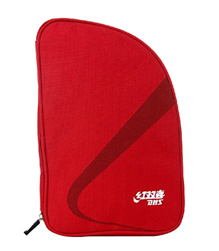 Panda Superstore Red Fan-shaped Table Tennis Racket Case Bag by Panda Superstore