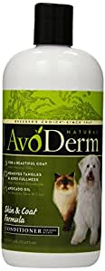 AvoDerm Natural Skin and Coat Formula Conditioner for Dogs and Cats