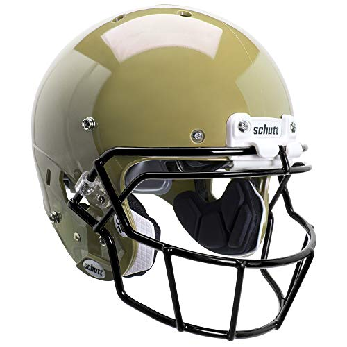 Schutt Sports FB Air XpPro Q10 MVG Helmet with Stabilizers, Metallic Vegas Gold, Small ()