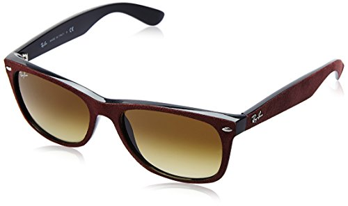 Ray-Ban Unisex RB2132 624085 Sunglasses, - Wayfarer Ray New Red Ban