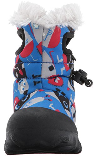 Moc Boot Waterproof Light Insulated B Multi Toddler Kids' Winter Bogs Blue UwgStqEx0n