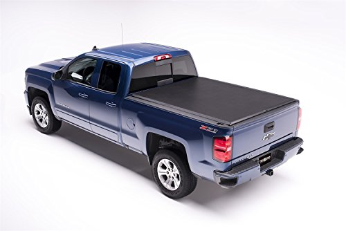 Edge Tonneau Cover - TruXedo Edge Soft Roll-up Truck Bed Tonneau Cover   872401   fits 2019 GMC Sierra 1500 & Chevrolet Silverado 1500 New Body Style 5'8