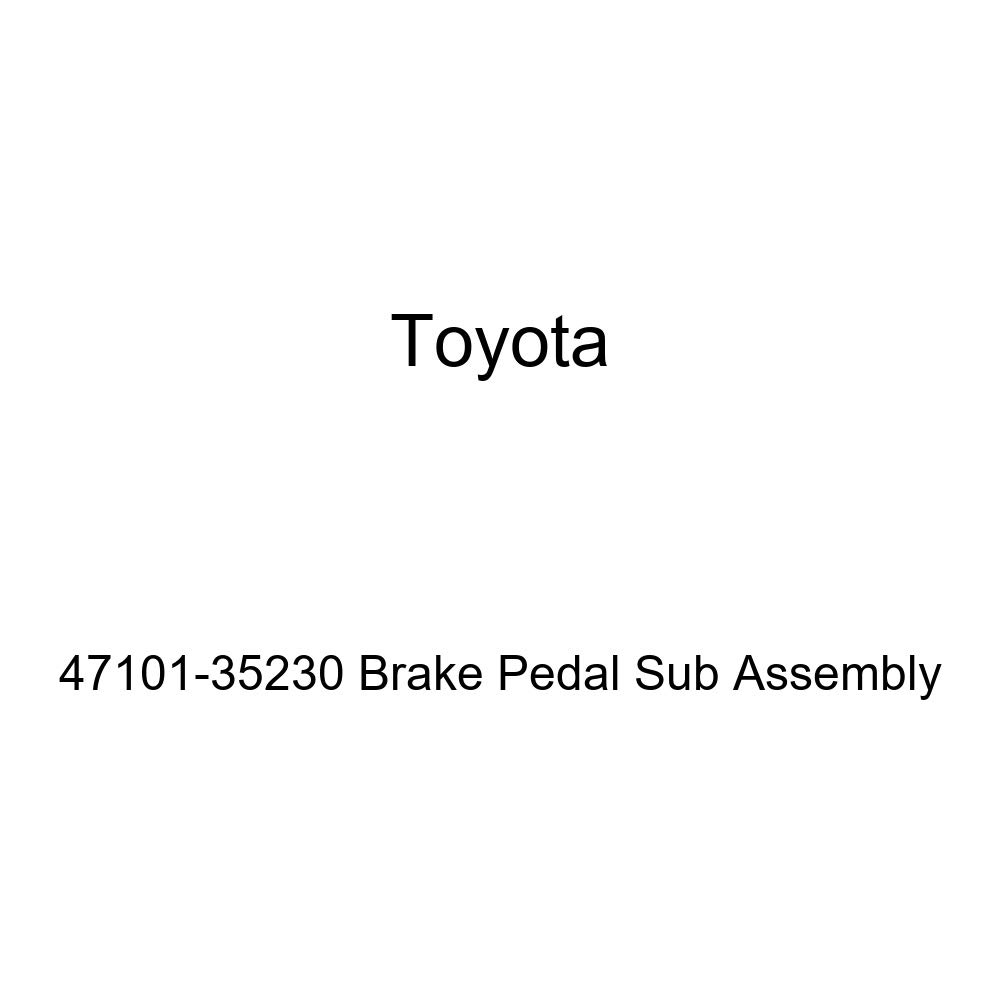 TOYOTA Genuine 47101-35230 Brake Pedal Sub Assembly