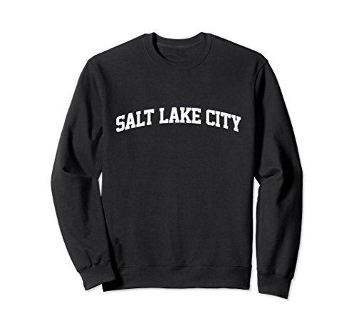 Arch Salt (Unisex Salt Lake City Arch Sports Sweatshirt 2XL Black)