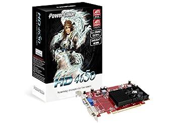PowerColor HD4650 512MB DDR2 GDDR2 - Tarjeta gráfica (GDDR2 ...