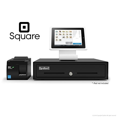 SQUARE POS BUNDLE - Stand iPad Air - A-SKU-0020, Star Micronics TSP143IIU 39464011 USB Printer and Epsilont Cash Drawer (Ipad Square Register compare prices)