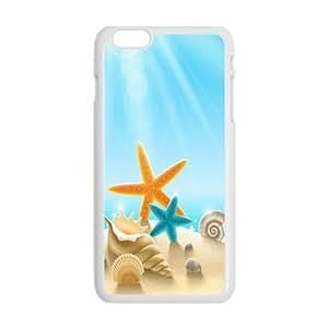 diyenr iPhone 6 Plus (5.5), Starfish Sea Shells