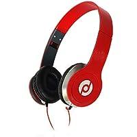 Fone de Ouvido Headphone P2 Super Bass Knup KP-313 Vermelho