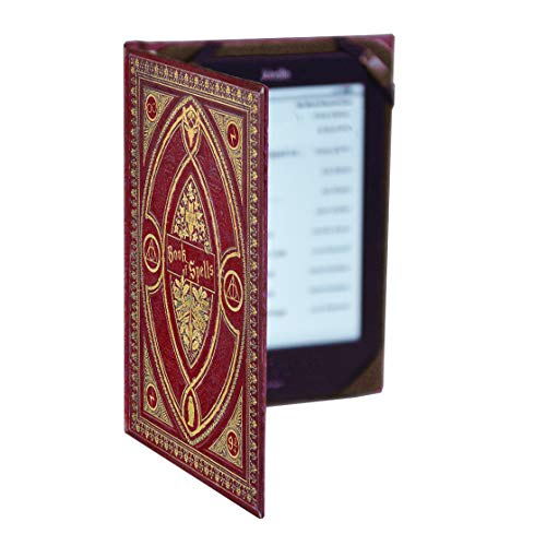 Universal Kindle eReader Case with Harry Potter Themed Book of Spells Cover (Compatible with New Paperwhite 2018)