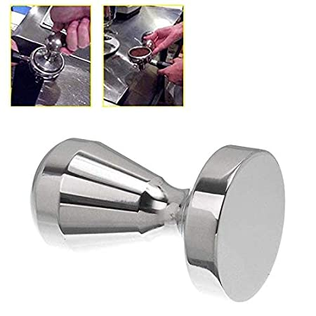 Alextry 1PC Stainless Steel Coffee Tamper Espresso Pressing Tool