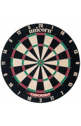 Unicorn Checkout Bristle Dartboard