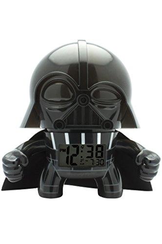 BulbBotz 2020008 Star Wars Darth Vader Light Up Alarm Clock (7.5 Inches Tall)
