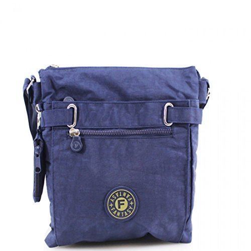 Bag Bag Waterproof Over Bag Work Shoulder Ladies Messenger Crossbody Womens Navy ZUFxwqR68