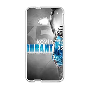 Happy Kevin Durant Fashion Comstom Plastic case cover For HTC One M7