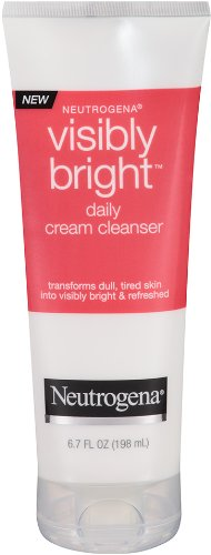 Neutrogena Visibly Bright Daily Cream Cleanser, 6.7 Ounce