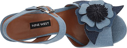 Denim Blu Chiaro Nove Donne Del West West