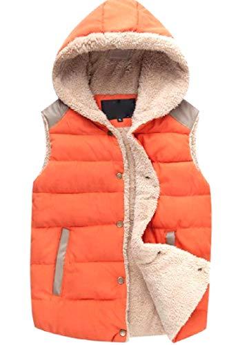 検索大胆な音楽を聴くNicellyer レディース秋冬ユニセックスソフトと暖かいパフジャケットベスト