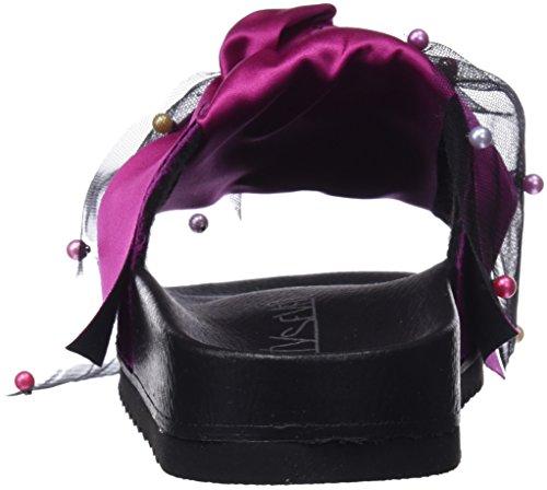 Borli Raso Purpura Tongs Multicolor Femme Rose Seven Xali Sixty C40621 wxqUg0On