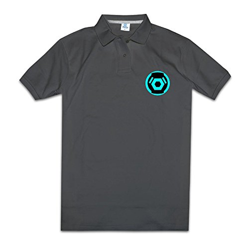 Polo Shirt Halo Video Game Series Science Fiction Man's Design Tshirt (T Boys Game Video Shirt Halo)