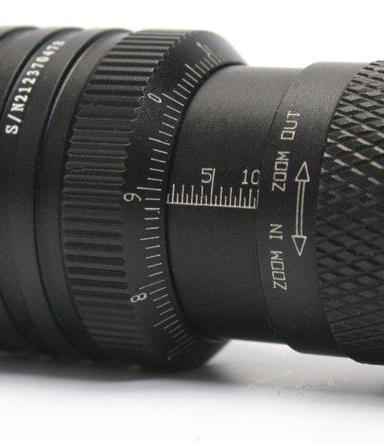 Amazon.com: Vizeri LED Tactical Flashlight with Focusing Lens ...
