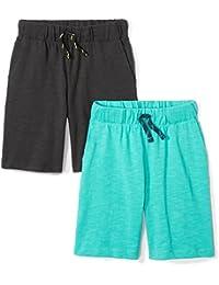 Boys' 2-Pack Jersey Knit Shorts