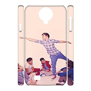 3D Samsung Galaxy S4 Cases Harry Zayn and Louis Are Just Having a Conversation Around Him and Niall Is Just Staring at Him Cute for Girls, Samsung Galaxy S4 Case for Men Cute for Girls [White]