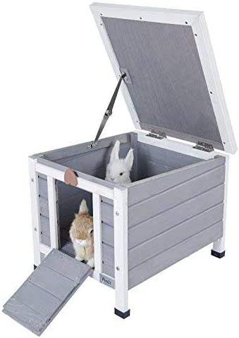 6. Petsfit Weatherproof Outdoor/Indoor Cat Condo