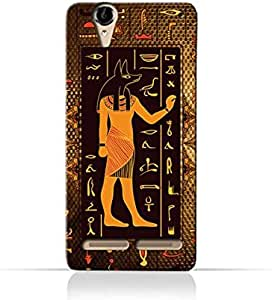 Sony Xperia T2 TPU Silicone Case with Egyptian Hieroglyphs Pattern