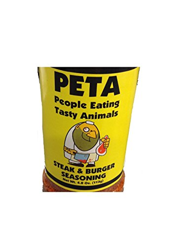 PETA Steak & Burger Seasoning 4 ounces -
