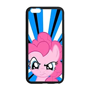 Custom My Little Pony Phone Case Cover Protection For iphone 6 plus , TPU, 5.5 inch, Black / White