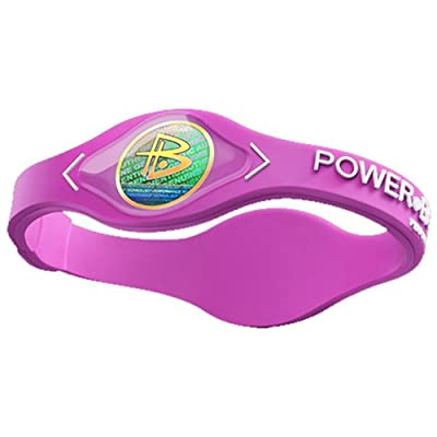 Power Balance LLC Silicone Wristband( COLOR: S, SIZE:N/A, LENGTH:N/A, HAND:Pnk/Wht )
