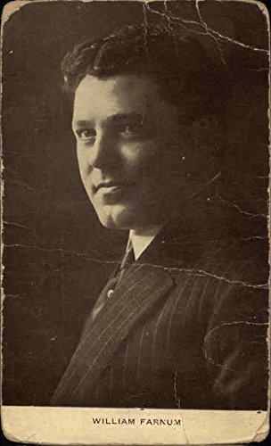 William Farnum Actors Firsthand Vintage Postcard