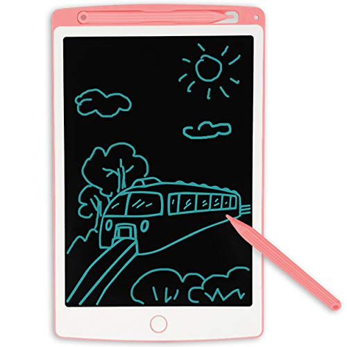 JONZOO LCD Writing Tablet, Erasable Handwriting Drawing Pad Electronic Notepad Doodle Board for Home School Office, Gift for Kids Adults